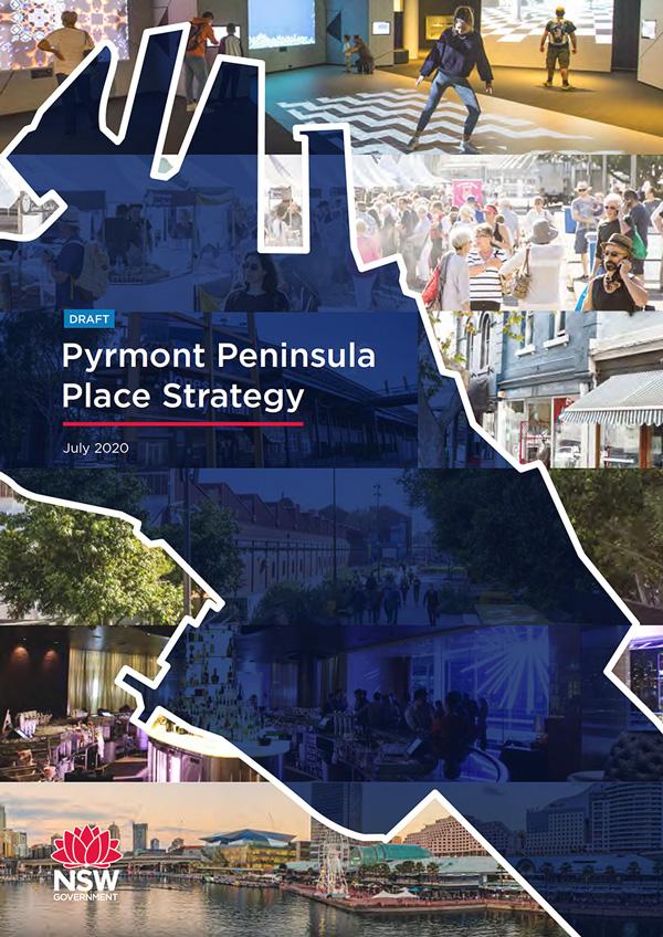 Draft Pyrmont Peninsula Place Strategy Cover July 2020