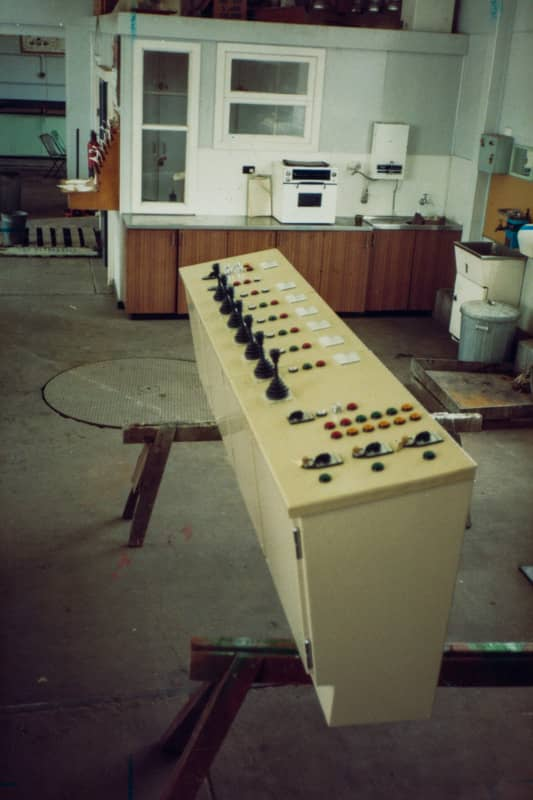 102172 Maintenance Work on the New Glebe Island Bridge Control Panel System at Central Workshops 1983